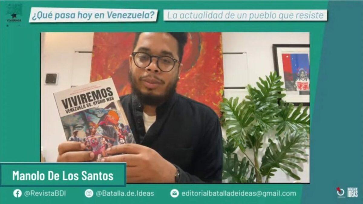 """Exponen trasfondo de medidas coercitivas en conversatorio sobre el libro """"Viviremos: Venezuela contra la Guerra Híbrida»"""