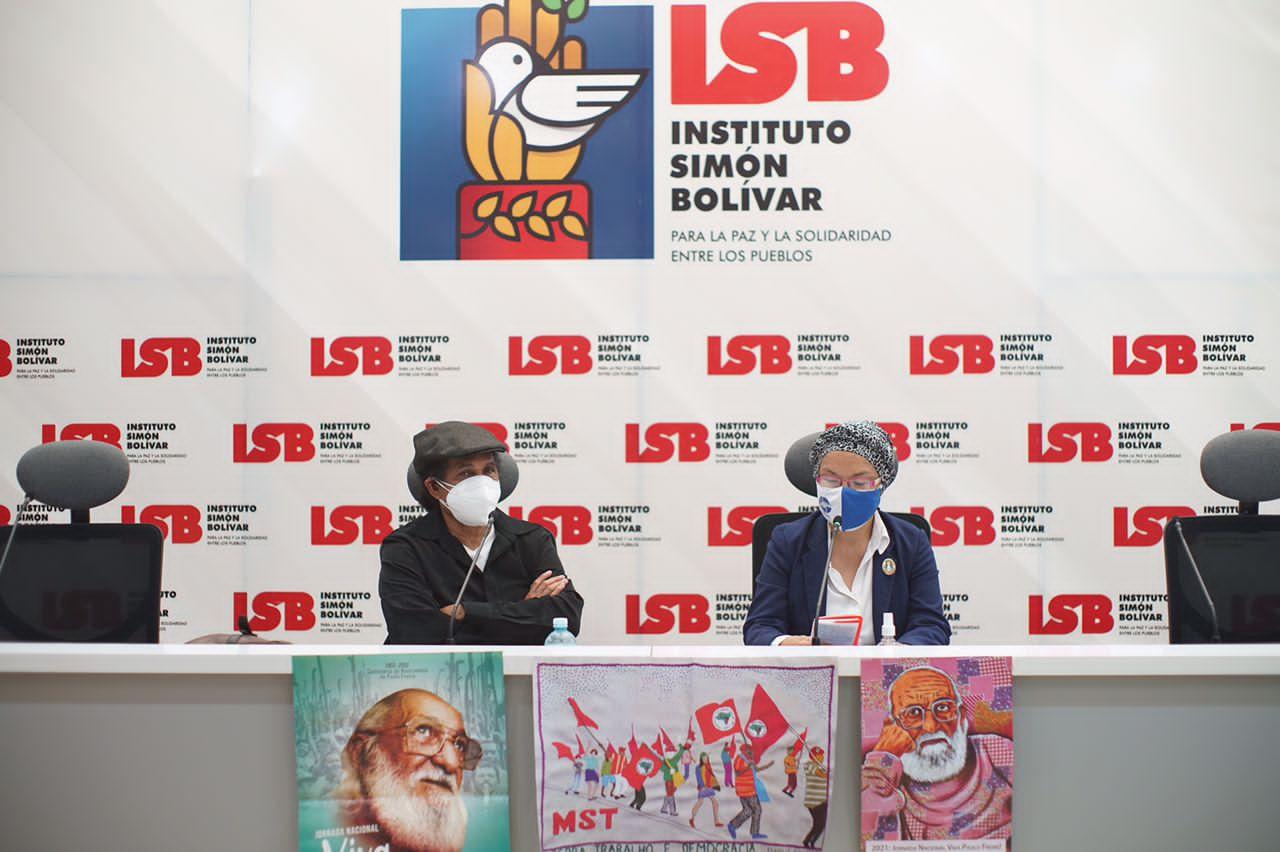 ISB celebró junto a movimientos sociales y docentes latinoamericanos el centenario de Paulo Freire