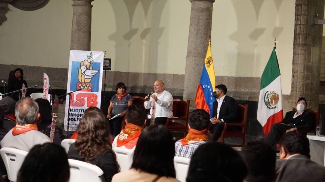 Movimientos sociales mexicanos manifiestan su respaldo a Venezuela tras Cumbre de la Celac
